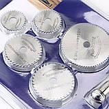 5 Шт. HSS дисковые отрезные пилы c креплением под цанговый патрон для дрели, фото 2