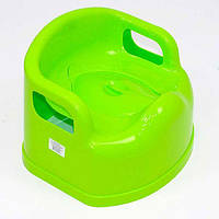Горшок детский SL с крышкой  - цвет зеленый,,салатовый
