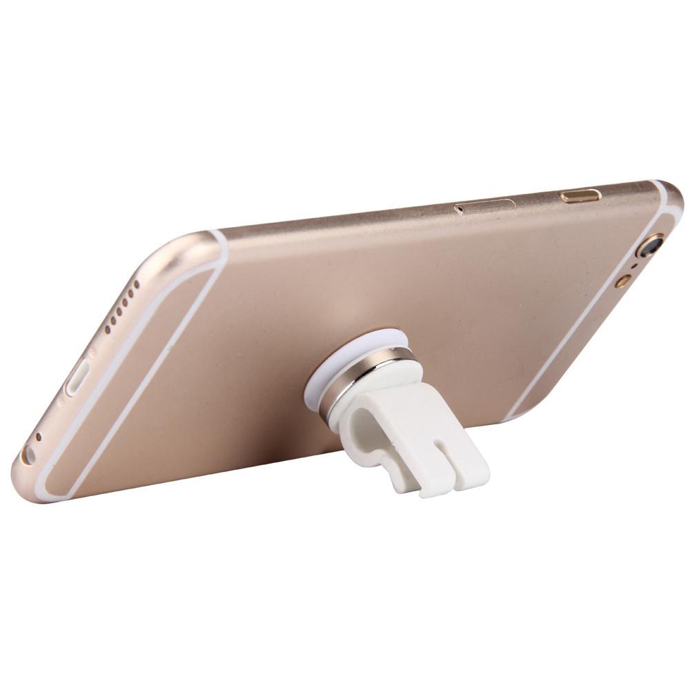 Магнитный держатель в воздуховод для телефона, электронной сигареты в