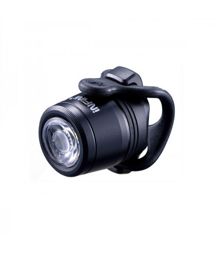 Фара передняя INFINI Mini LUXO I-270WA-Black W/60.7 V-link, 3 режима, батарея, USB, крепление, White LED, пере
