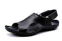 Сандалии Gekon, черные, мужские, натуральная кожа, р. 40 41 42 44