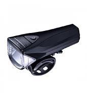 Фара передняя INFINI SATURN I-330P-Black, 3 Watt White LED, 300 люмен, 5 режимов, USB, батарея, перезаряжаемая