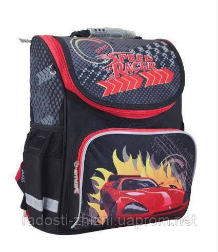 Ранец школьный ортопедический Smart Speed race 553428