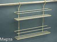РС Lemax Полка двойная для специй золото MX-063 OT (БС)