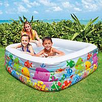 Детский надувной бассейн Intex 57471 «Голубая лагуна»