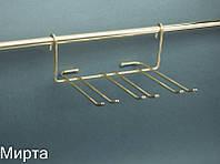 РС Lemax Полка для фужеров мини золото YJ-G507 OT (БС)