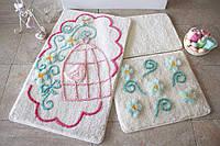 Набор ковриков (для ванной и туалета) №9042