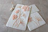 Набор ковриков (для ванной и туалета) №9044