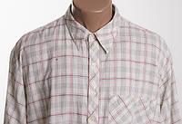 Aarong этническая ручной работы  рубашка д/р размер L ПОГ 63 см  б/у