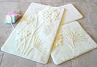 Набор ковриков (для ванной и туалета) №9045