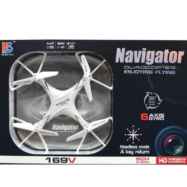 Квадрокоптер Navigator 169 V с камерой