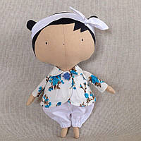 Детская игровая кукла ручной работы Тильда игровая Подарок девочке на новый год 2018