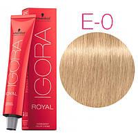 Igora Royal Mixtones - Крем-краска для волос E-0 Усилитель для осветления волос, 60 мл