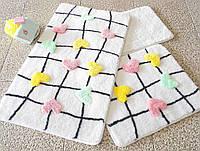 Набор ковриков (для ванной и туалета) №9048