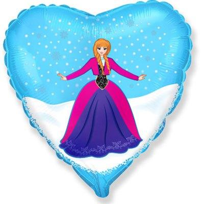 "Шар в форме сердца ""Анна"""