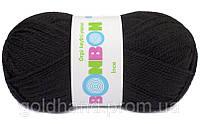 Пряжа для ручного вязания. Цвет: Черный.