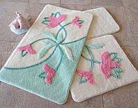 Набор ковриков (для ванной и туалета) №9052
