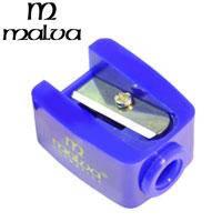 Malva - Точилка косметическая M-002 одинарная (разные цвета) 1шт