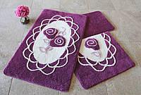 Набор ковриков (для ванной и туалета) №8990