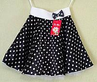 Детская юбка - пачка в горошек для девочек.