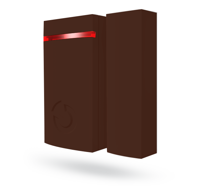 JA-151MB Бездротовий магнітний минидетектор - коричневий