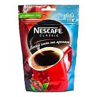 Кофе растворимый Нескафе 60 г Класик Эконом пакет Nescafe Classic