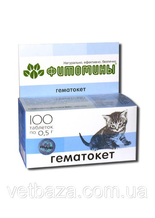 Витамины Фитомины Гемато Кет для кошек, №100 ВЕДА