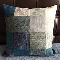 Декоративная подушка «Малахит», фото 1