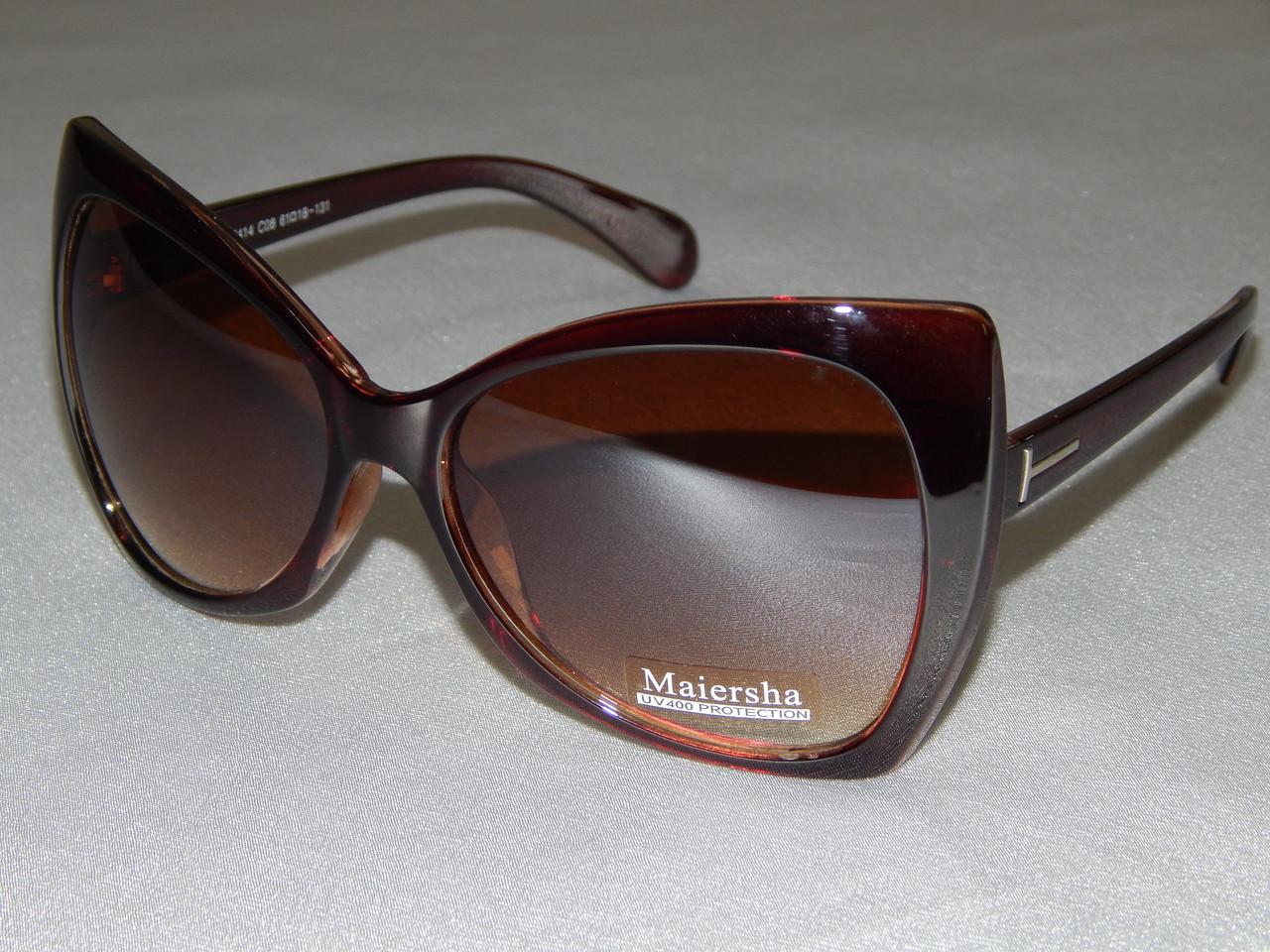 8f809d83fa2a Купить Солнцезащитные очки, Maiersha коричневые 760128 в Харькове ...