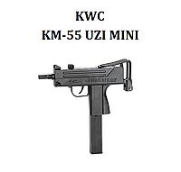 Пневматический пистолет  KWC UZI Mini KM-55