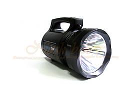 Мощный переносной фонарь базука td-6000 15w, аккумуляторный