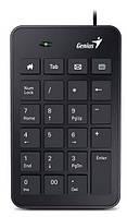 Проводная числовая клавиатура калькулятор genius numpad i120 usb slim (31300727100)
