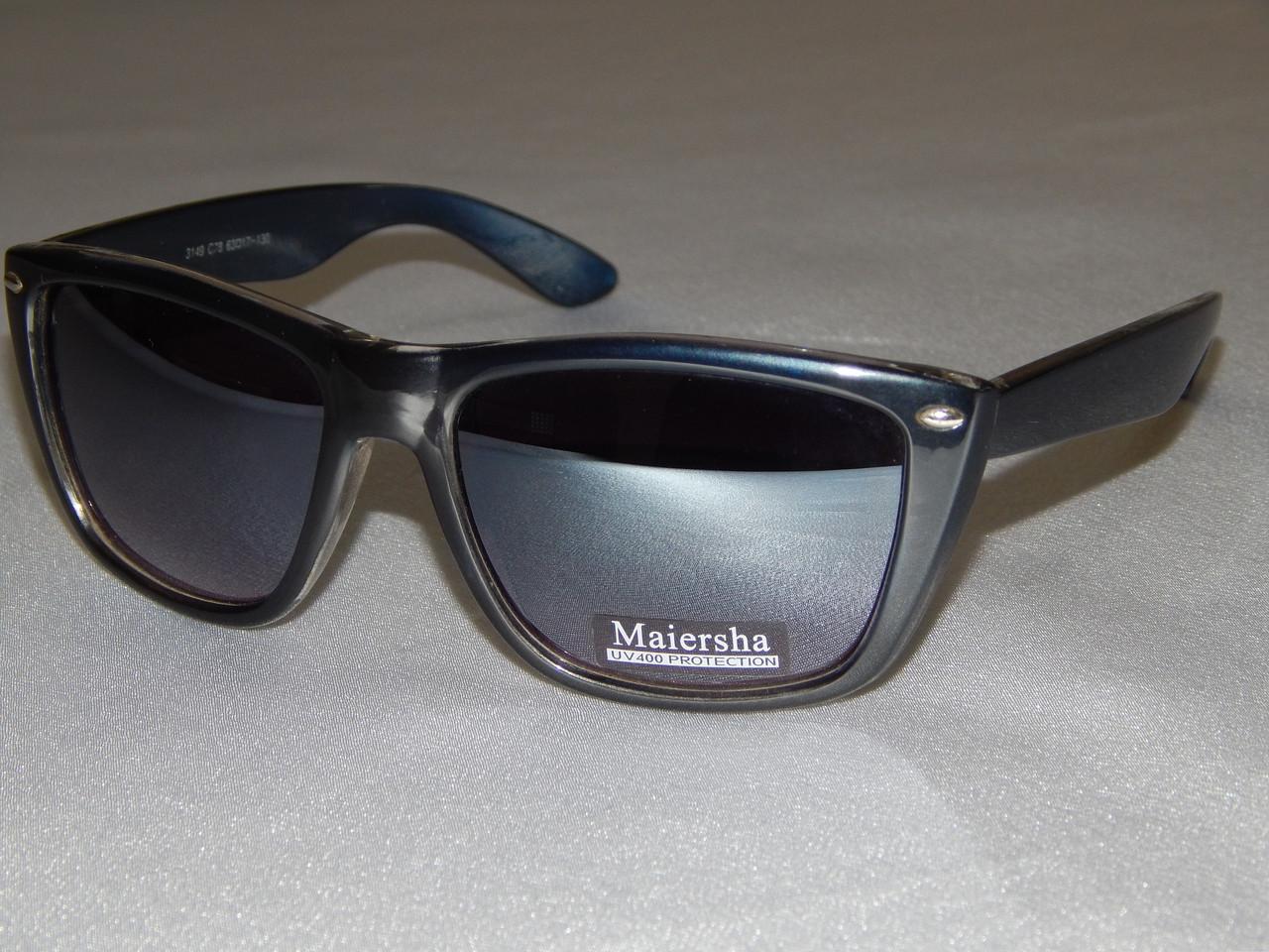 76e725ef332d Солнцезащитные очки, Maiersha темно - синие 760130 -