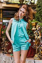 ДТ1132 Трендовый женский костюм , фото 3