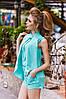 ДТ1132 Трендовый женский костюм , фото 4