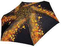 Женский зонт Zest МИНИ Желтые цветы ( механика, 5 сложений ) арт. 55526-9