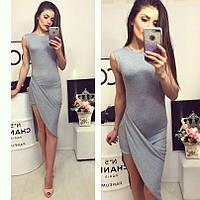 Оригинальное платье с переплетом юбки 1151  НН!