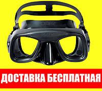 Маска для плавания Omer Abyss Black Омер абусс блек подводной охоты дайвинга снорклинга