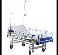 Кровать медицинская HBM-2SM четырехсекционная,функциональная, Кровать больничная