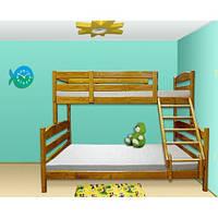 Трехместная двухъярусная кровать-трансформер «Ирель»