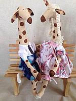 Игрушка ручной работы Жираф Тильда на заказ