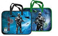 Папка-портфель пластиковая Солдаты 28623