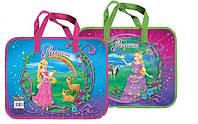 Папка-портфель пластикова Принцеси 9900