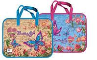 Папка-портфель пластикова Метелики 28622