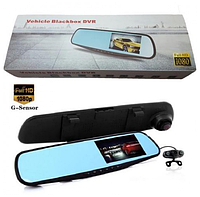 Зеркало видеорегистратор Vehicle Blackbox 2 камеры DVR Я3077 PAB NF