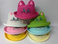 Шляпа панама детская Кошка