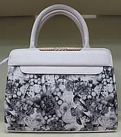 Сумка стильная женская деловая Valetta Экко-кожа 17-604-5 Белая
