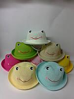 Шляпа панама детская Лягушка мультфильм Каваи