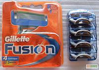 Кассеты Gillette Fusion - ОРИГИНАЛЬНЫЕ касеты для бритья по 4шт.