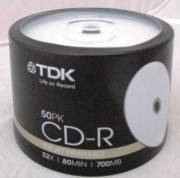 Диски TDK CD-R Printable R700 CB 50pcs